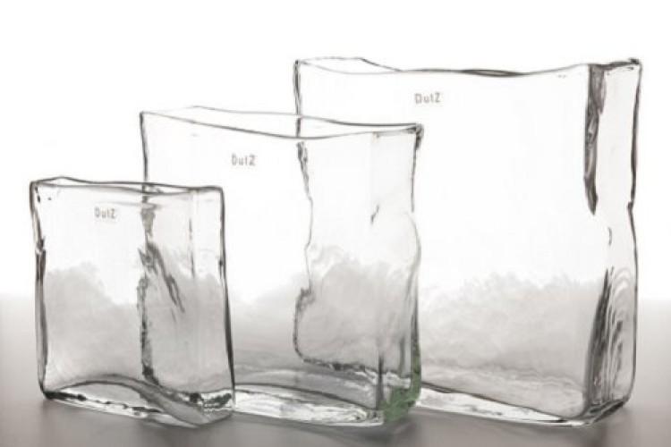 Rectangular Vase Collection Clear Eurdecor